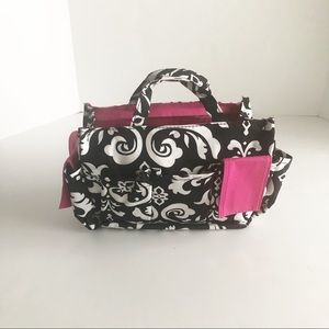 Handbags - Catch all utility bag black and pink